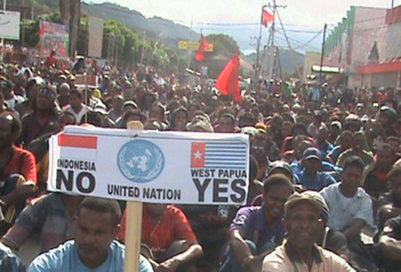 Demands for an internationally supervised referendum are widespread throughout West Papua