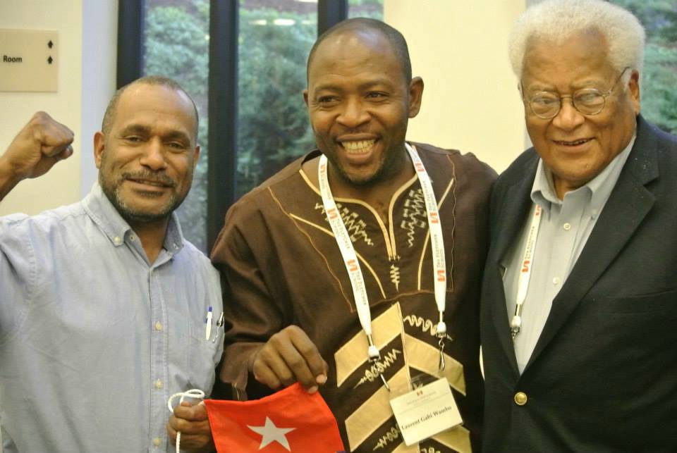 Benny Wenda meets civil rights movement leaders