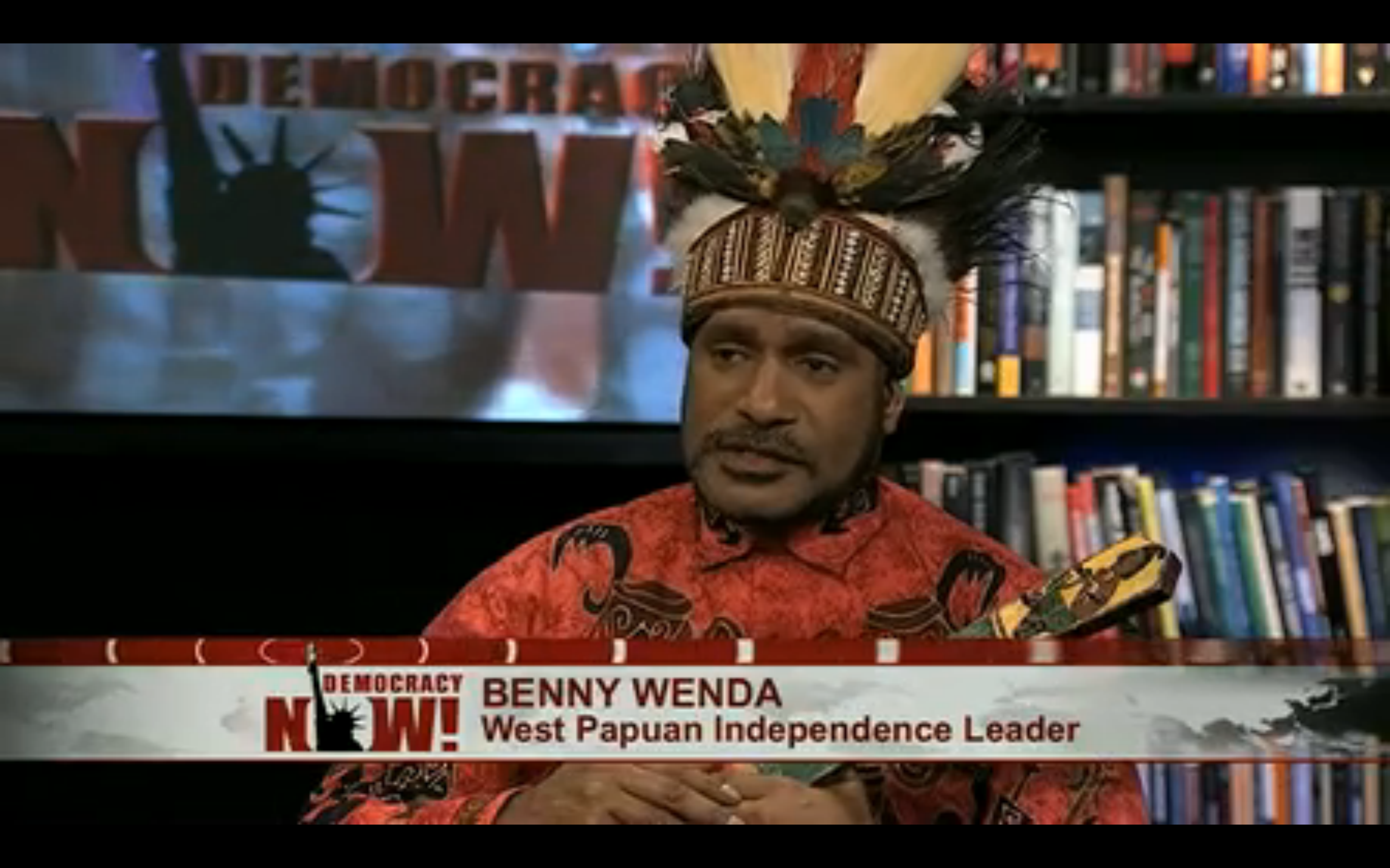 Interview on Democracy Now