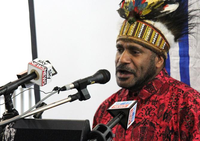 Official tour of Papua New Guinea