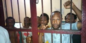 West Papuans arrested in Nabire are suffering sickness in prison