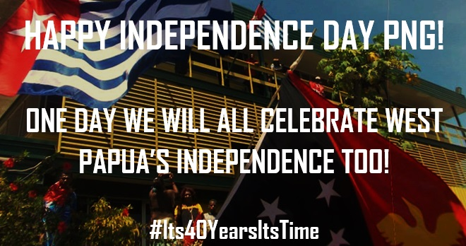 Benny Wenda's PNG Independence Day Message 2015