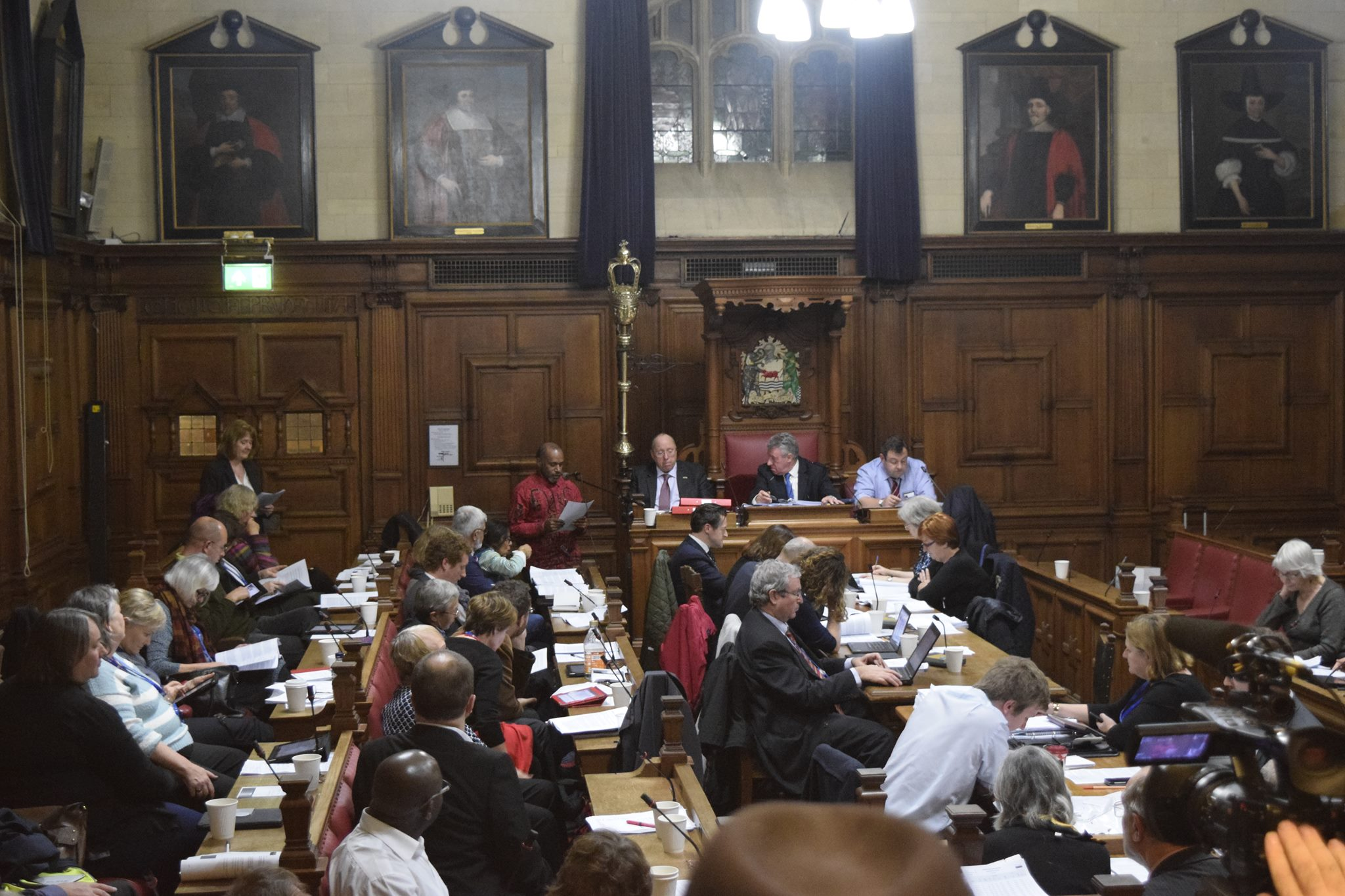 Benny Wenda addresses and thanks the Oxford City Council for Free West Papua support