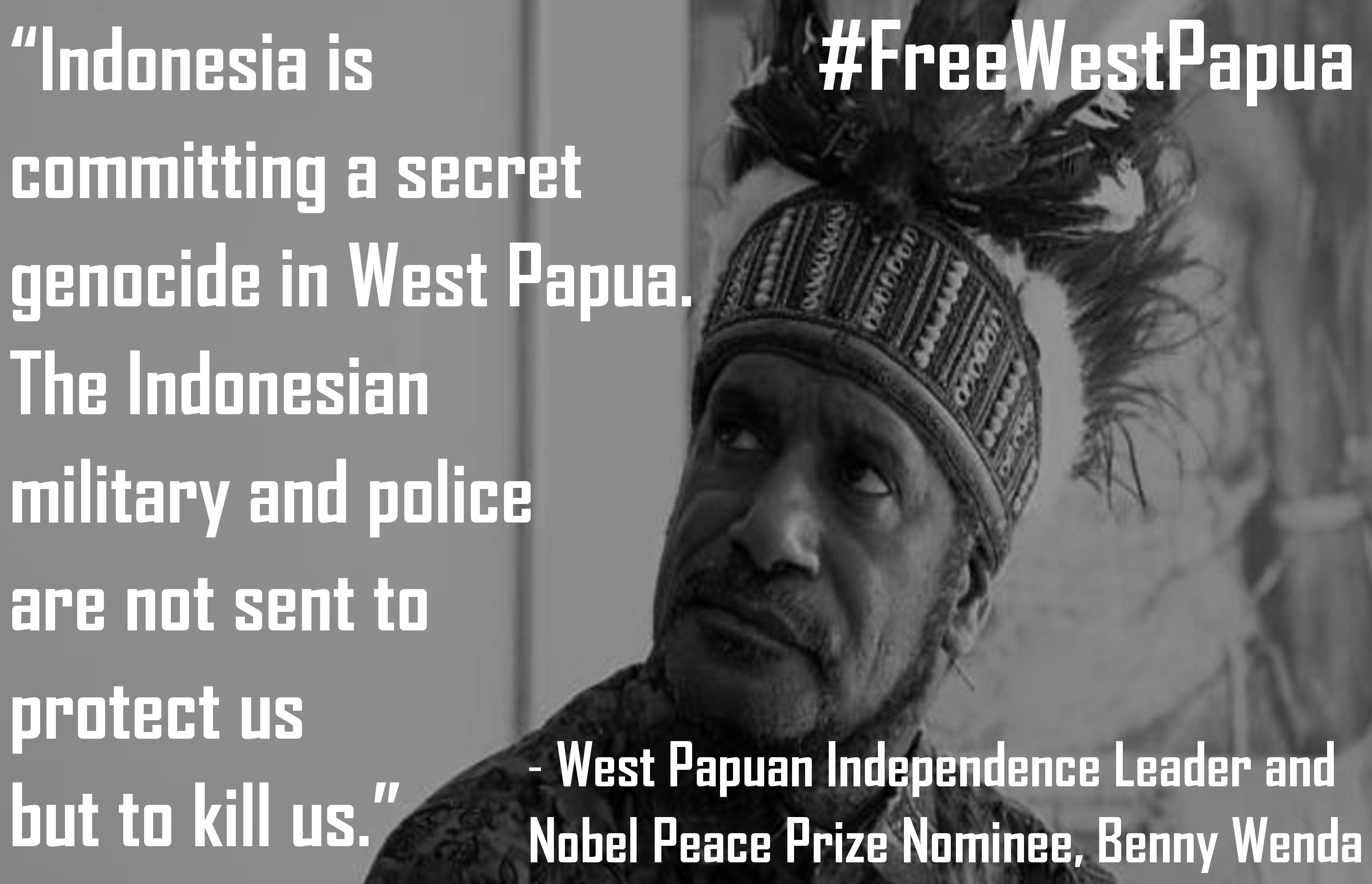 Benny Wenda quote on genocide