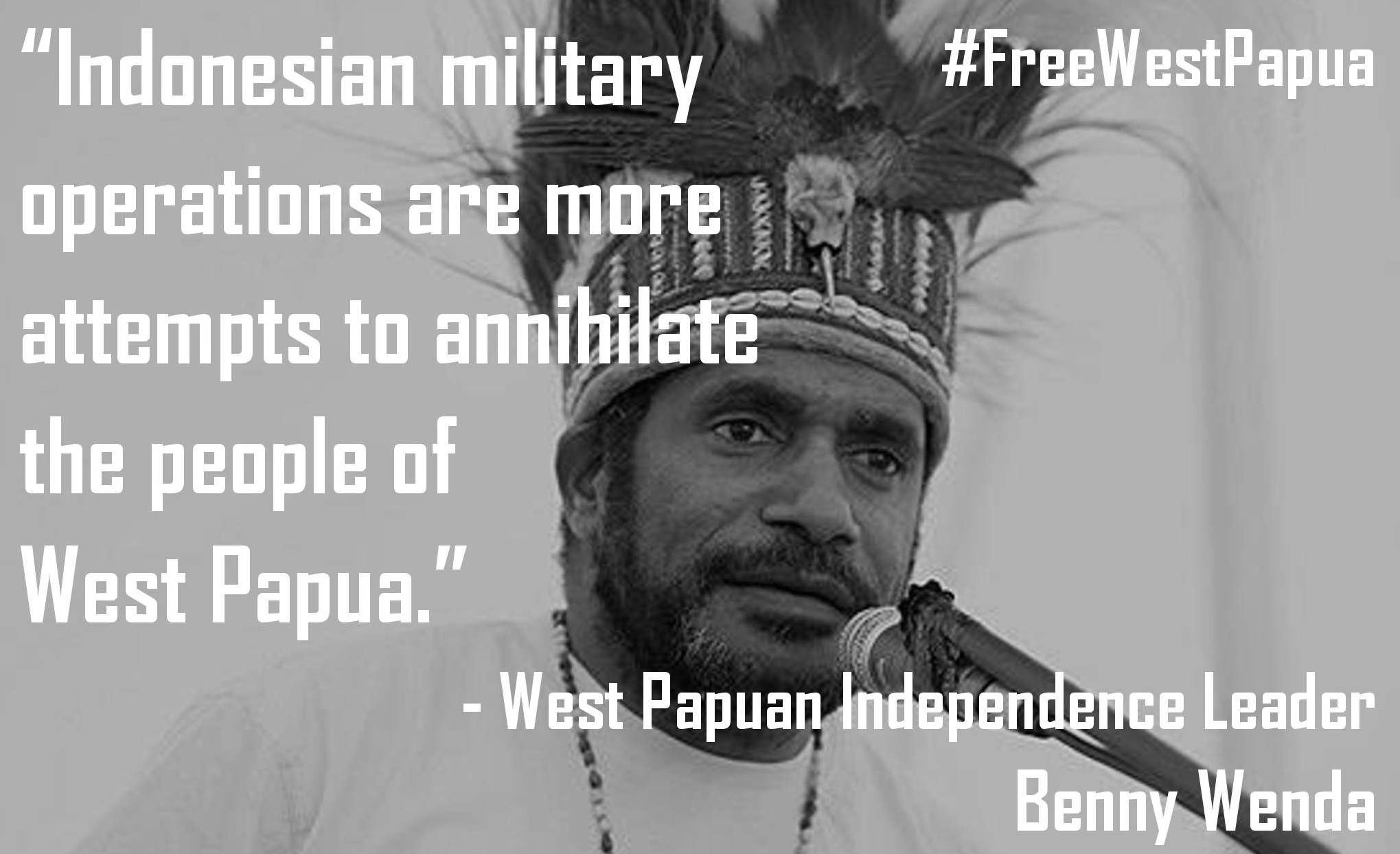 Indonesian military operations are more attempts to annihilate the people of West Papua