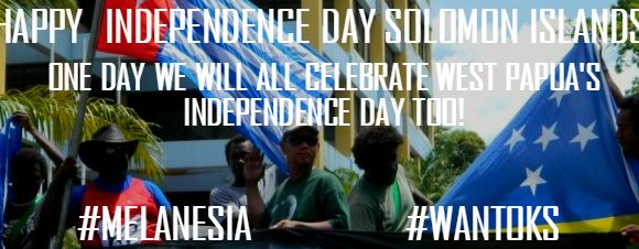 Benny Wenda's Solomon Islands Independence Day Message 2016