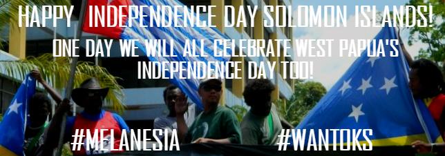 Benny Wenda's Solomon Islands Independence Day Message 2016