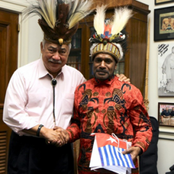 Letter of Condolence after the death of Congressman Eni Faleomavaega of American Samoa