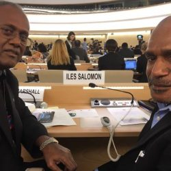 Benny Wenda and ULMWP lobby at the United Nations Human Rights Council