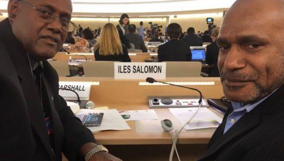Benny Wenda and ULMWP lobby at the United Nations Human Rights Council