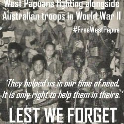ANZAC Day message from West Papuan Independence Leader Benny Wenda