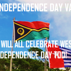 West Papua says Happy Independence Day Vanuatu!