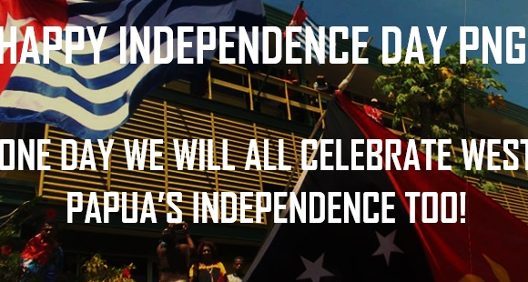 West Papua wishes PNG a Happy Independence Day