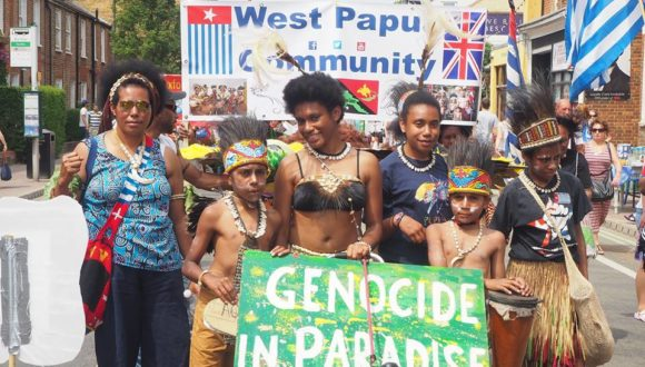 West Papua community in Oxford, UK remembers the proclamation of independence, July 1st 1971